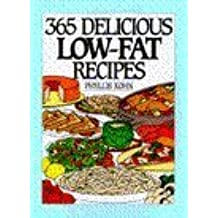 365 Delicious Low-Fat Recipes (365 Ways Series)