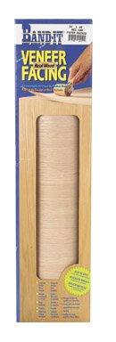Paper Veneer Oak (Band-It 24410 Paper Back Real Wood Veneer Facing, 24