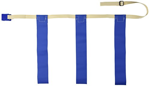 Triple Threat Flag Belts - TRIPLE THREAT Flag Football Belts, Blue, Large (EACH)
