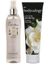 Bodycology Pure White Gardenia Fragrance Mist and Body Cream Set by Bodycology