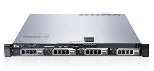 Dell PowerEdge R420 Server | 2X 2.40GHz 12 Cores | 48GB | H310 | 4X 4TB SAS (Renewed)