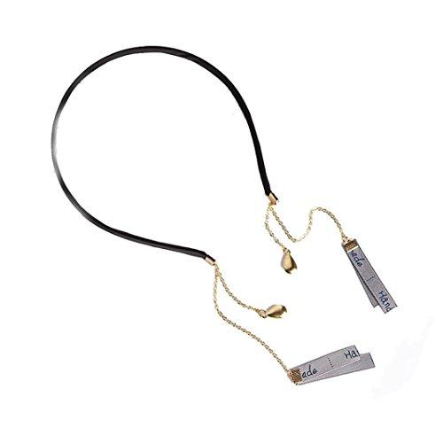 LiPing Lace Head Chain Hair Pin Sweet Drip Styling Tool (Gray) (Arctic Fox Grey)