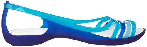 Crocs Isabellafltsndl Donna Blu turquoise cerulean Blue Ballerine AAaZxwr