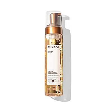 MIZANI Styling Foam Wrap | Balances Hydration, Shine & Hold | With Shea Butter | Paraben-Free | For Curly Hair | 8.5 Fl. Oz.