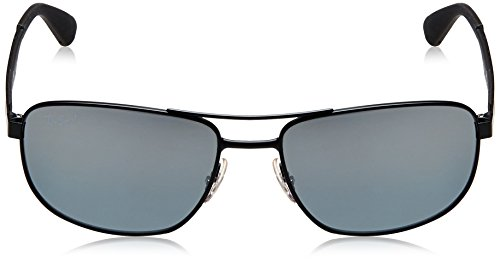 Gafas 58 Rectangulares 0Rb3528 Polarizadas de Ban Matte sol Ray Black FaOEqaw