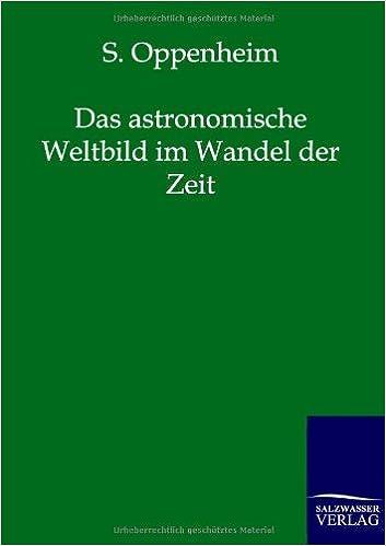 Das Astronomische Weltbild Im Wandel Der Zeit