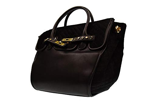 a donna mano SECRET BLACK borsa 388001A Nero 810 PON PON xqw7IZ
