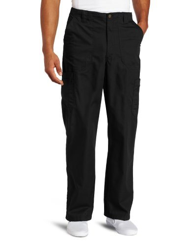 Carhartt Men's Ripstop Multi-Cargo Scrub Pant, Black, Medium