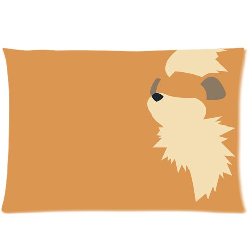 Amazon.com: Anime Pokemon Growlithe fundas de almohada ...