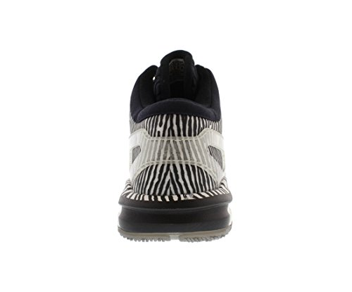 adidas Männer Crazylight Boost Basketballschuhe Weiß / Silber / Schwarz (S85472)