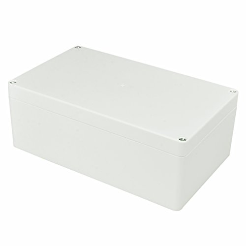 Plastic Junction Box - Pinfox Waterproof Electronic ABS Plastic Junction Project Box Enclosure 200mm by 120mm by 75mm (White)