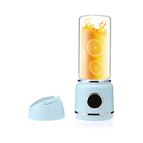 chollos oferta descuentos barato Ckeyin Licuadora de Jugos Exprimidor Portátil Mezclador de Frutas USB Recargable Adecuado para Frutas y Verduras para Hacer Jugos de Frutas Batidos Milkshake Etc