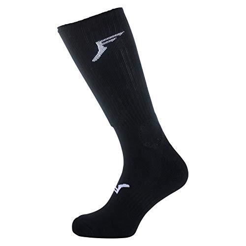 Footprint Insole Technology Knee High Painkillers Socks Foam Sewn in
