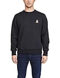 Men's Pizza Rat Crew Neck Sweatshirt