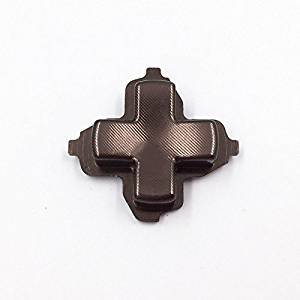 Aluminum Alloy Metal Direction Button D-Pad Dpad D pad Key Button Replacement for Xbox one ()