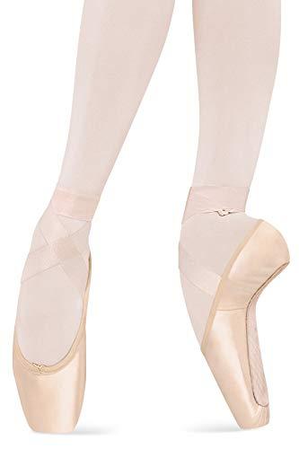 Bloch Dance Ballet/Pointe Shoe Sheer Stretch Ribbon Pink, One Size