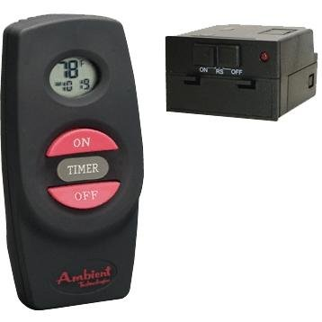 Ambient RCMT On/Off Timer Fireplace Remote (Ambient Technologies Handheld Remote Control)
