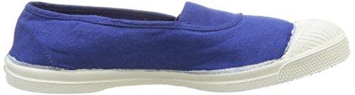 Femme Tennis Elastique 532 Bensimon Baskets blue Bleu RFgxxwtq