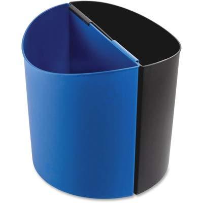 Deskside Recycling Receptacle - SAF9928BB - Safco 14 Gal Desk-Side Recycling Receptacle