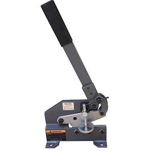 Kaka HS-6 6-Inch Sheet Metal Plate Shear, Heavy Steel Frame, Mounting Type Metal Shear, High Accuracy Manual Hand Plate Shear