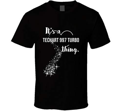 It's a Techart 997 Turbo Thing Car Lover Cool Auto T Shirt 2XL - Techart 997 Turbo
