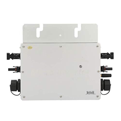 Solar Grid Tie Wechselrichter, 600W IP65 wasserdichter Solar Grid Tie Wechselrichter, 22-50VDC 40A Micro Solar Wechselrichter, Solar Panel Micro Wechselrichter, Solar Power Converter Grid-Tie(220V)