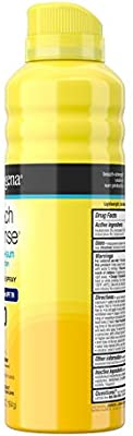 Neutrogena Beach Defense Body Spray Sunscreen with Broad Spectrum SPF 70, Water-Resistant and Oil-Free Sun Protection, 6.5 Ounce