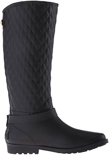 Guess Lulue dedo del pie redondo lluvia sintética de arranque Black