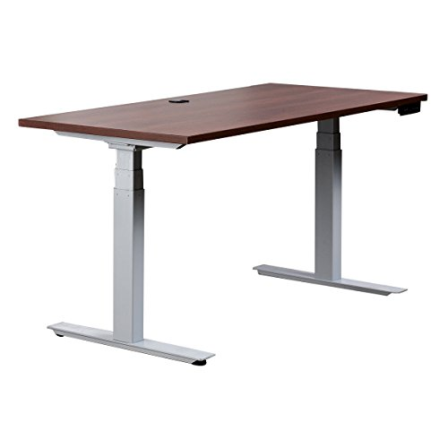 Cherry G22e Electric Sit Stand Desk with Rectangular HPL Top (simple controller) (Via Table Rectangular)