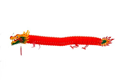 THY COLLECTIBLES Chinese Decorative Dragon For Party, Festival Celebration Or Home Decor 55 in (140 cm)