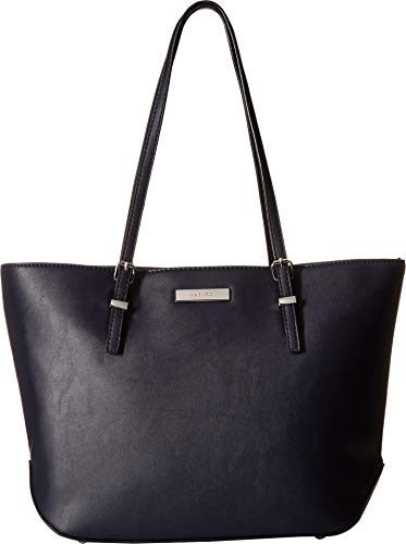 Nine West Womens Society Girl Tote Navy One Size