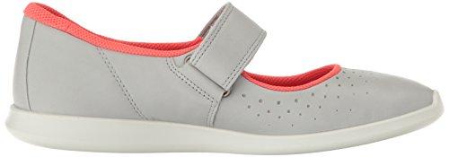 Ecco Donna Womens Sense Mary Jane Fashion Sneaker Concrete / Concrete-black
