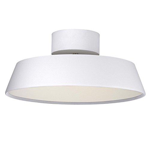 alba semi flush light finish white amazon co uk lighting