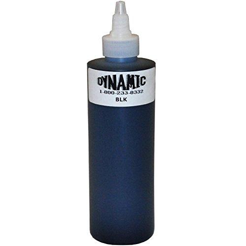 Dynamic Black Ink Bottle  8 Oz