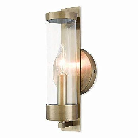 Amazon.com: livex iluminación 10141 – 01 Castleton – , uno ...