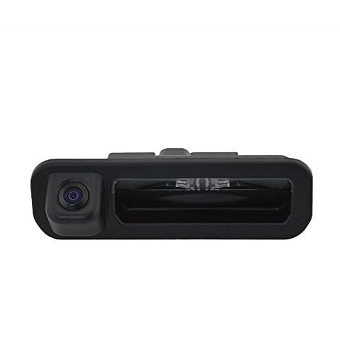 Sincere easy install DIY Trunk Handle Back up Night Vision Camera High Waterproof grade for 2012 2013 FORD FOCUS Hatchback Sedan (Jaguar Av Cable)