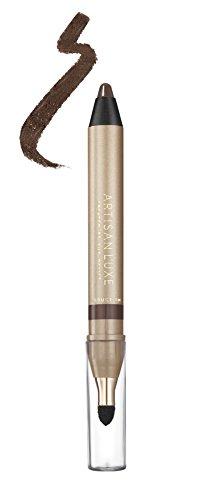 Eyeliner Crayon - Velvet Eye L'uxe Jumbo Eye Pencil by Artisan L'uxe | Water-Resistant and Smudge Proof | Long-Lasting, Age-Defying Formula | 3-Minute Smokey Eye | Sue Devitt | Chocolate Brown | Seduction