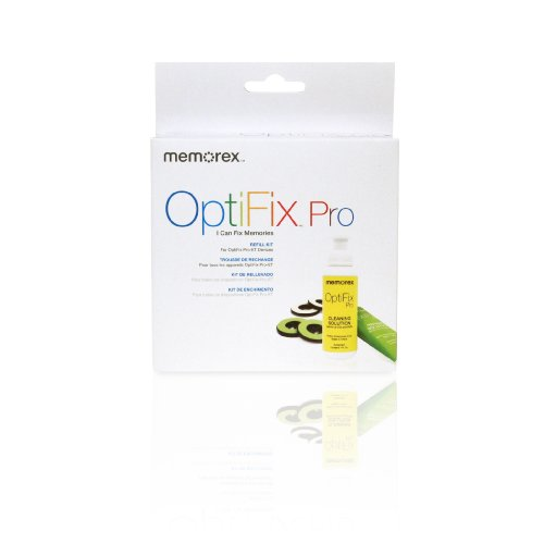 [Memorex 32028027 OPTIFIX PRO ET Refill Kit (Discontinued by Manufacturer)] (Memorex Optifix Cleaning Kit)