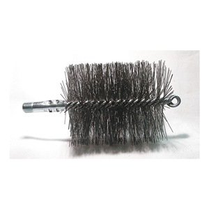 Flue Brush, Dia 3 3/4, 1/4 MNPT, Length 8 TOUGH GUY
