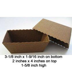 Novacart Easybake Mini Loaf - Case of 500 Pieces