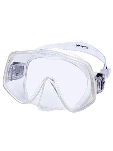 - Atomic 04-0620-00 Frameless 2 Scuba Mask, Regular Fit, Clear