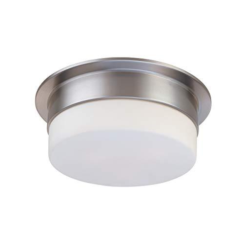 (Sonneman 3741-13 One Light Surface Mount, Silver)