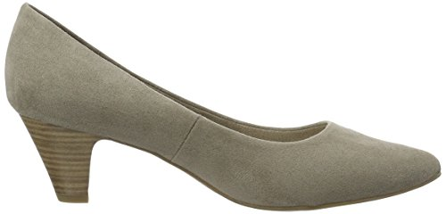 Marco Tozzi 22434 - Zapatos de Tacón Mujer Beige (Taupe 341)