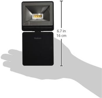 1020752 noir 3000/K Theben Luxa 102/FL LED 8/W Spot pour montage mural