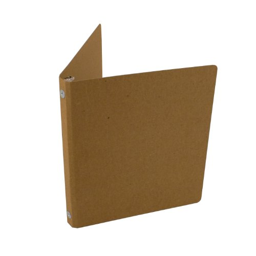 Guided Products ReBinder Select Recycled Chipboard Binder, 0.5 Inch  (Cardboard 3 Ring Binder)