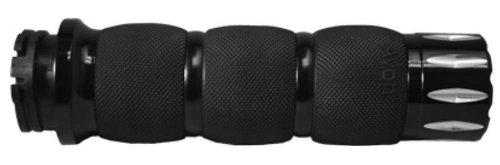 Avon Grips Black Air Cushion Rival Grips AIR-90-ANO-RIV
