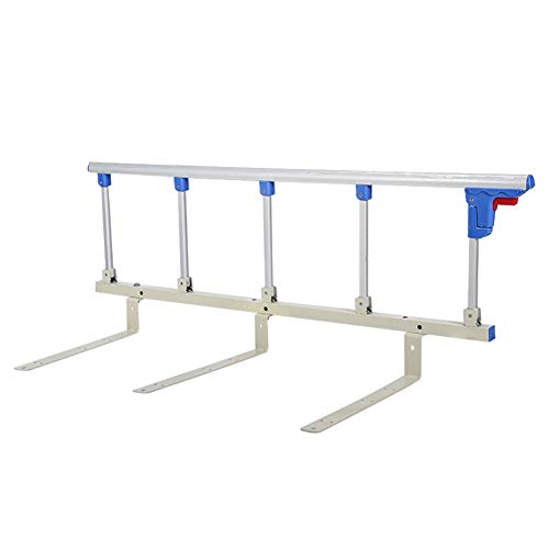 Bed Rails for Safety and Fall Prevention, Safety Side Guard for Children, Elderly, and Handicapped Individuals, Hospital Metal Grip Bumper Barr, 120cm -