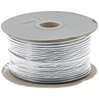Cat3 Silver Satin Modular Cable, 4 Conductor, 1000 Ft., CAT3-4-1000GY