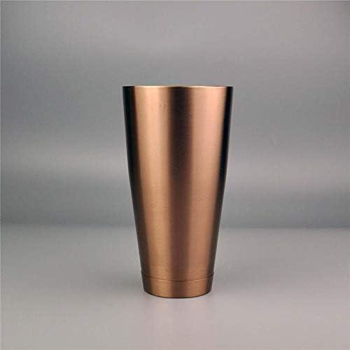 QueenHome Cocktail-Shaker: 2-teiliger Edelstahl Boston-Shaker Set, 600ml + 750ml Cocktailshaker Barset für alle Professionelle Barkeeper und Zuhause Cocktail Liebhaber