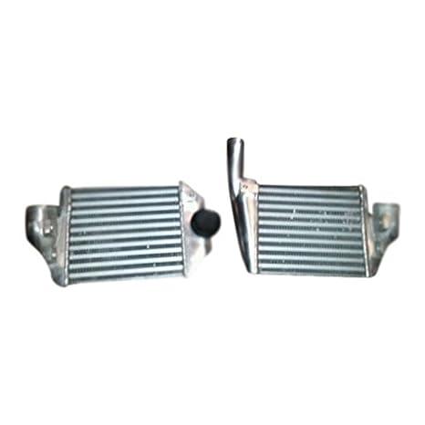 xs-power RS6 estilo V3 99 - 05 Audi A6 Quattro 2.7T aluminio Bi-Turbo Intercooler Smic: Amazon.es: Coche y moto
